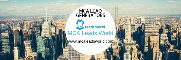mca lead generators